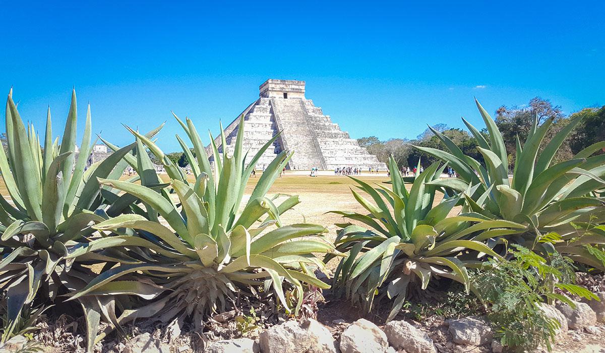 Temple in Latin America
